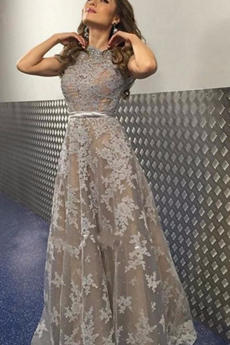 Long Prom Dress,Gray Prom Dress,Appliques Prom Dress,Elegant Prom Dress,Women Prom Dress,Charming Prom Dress,Sexy Party Dress,Long Evening Dress,Fashion Formal Dress,Long Party Dress